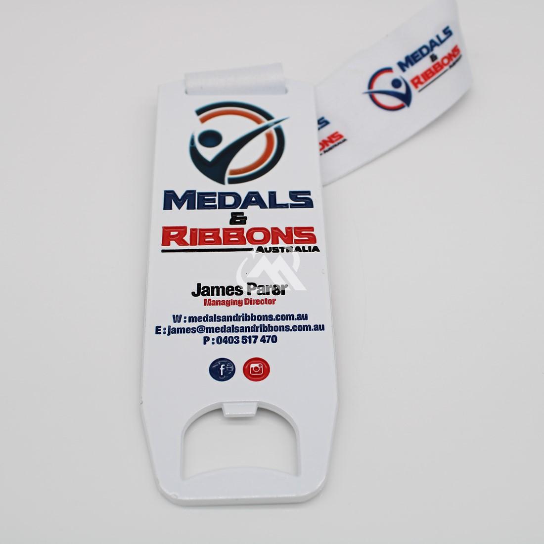 custom white Sprayed Paint Medals