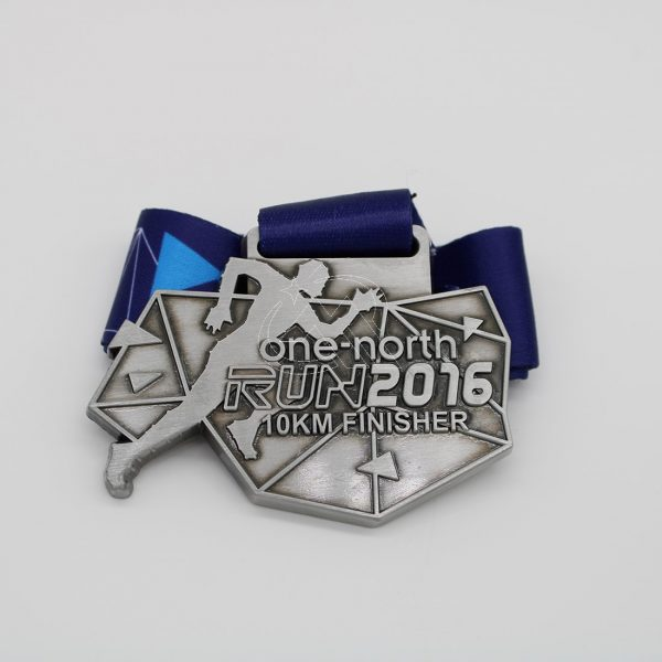 Custom Run 10KM Finisher Medals