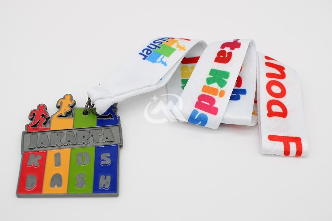Custom Kids Dash Medals