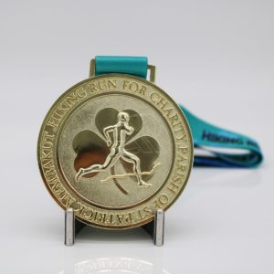 custom shiny race medals