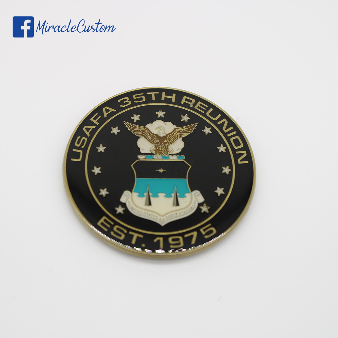 Custom Coins with Epoxy Dome| Quality Challenge Coins|Miracle Custom